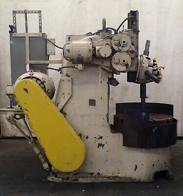 36 Bullard Vertical Turret Lathe 30 Hp 3 Jaw Chuck 5 Position Turret V-belt