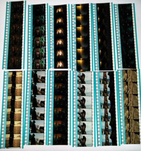 Pirates of the Caribbean: Stranger Tides Movie 60 x 35mm Film Cells 12 Strips A