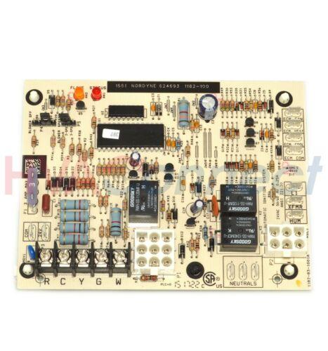 Nordyne Tappan Intertherm Miller Circuit Control Board 624693 1182-100