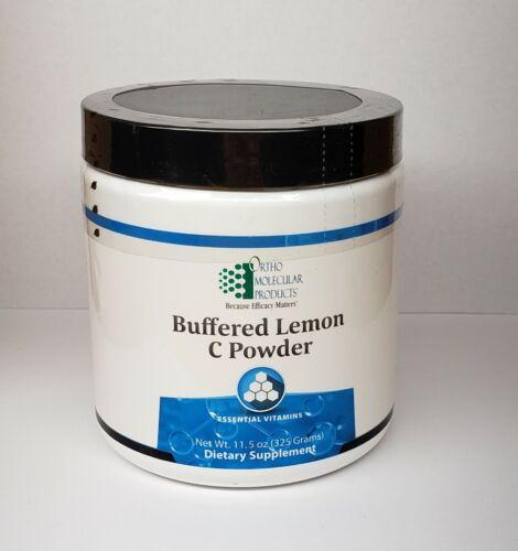 Buffered Lemon C Powder 325 Grams Ortho Molecular