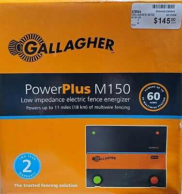 Gallagher Powerplus M150 Electric Fence Energizer