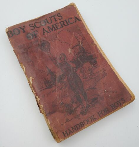 1913 United States Boy Scouts of America: 4th Edition Handbook Manual For Boys
