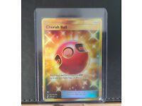 250//236 Cherish BallSecret Rare CardPokemon TCG Unified Minds SM-11 Item