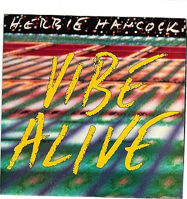 Hancock  Herbie   Vibe Alive   Columbia 38 07718   Picture Sleeve Only