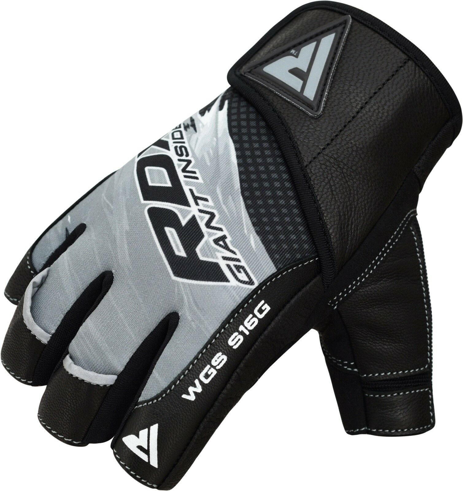 Gym Gloves Weight Lifting Leather Workout Wrist Support: RDX LEATHER WEIGHT Lifting Gym Gloves Training Fitness
