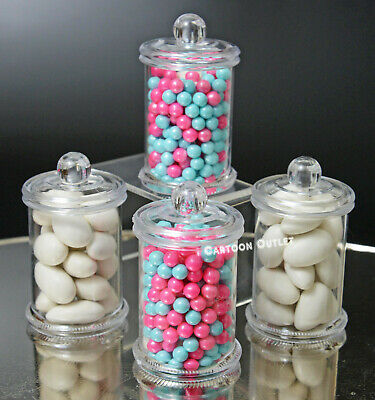 Party Favor Containers (12 COMMUNION BAUTIZO BABY SHOWER BIRTHDAY PARTY FAVORS CANDY MINI CONTAINERS)