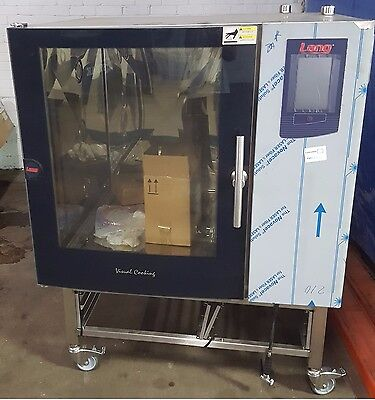 New Lang Combi Oven Steamconvection Combo 3ph