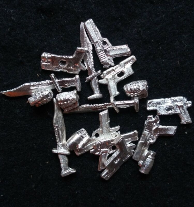 10 Grams .999 Silver weapons lot *read info*