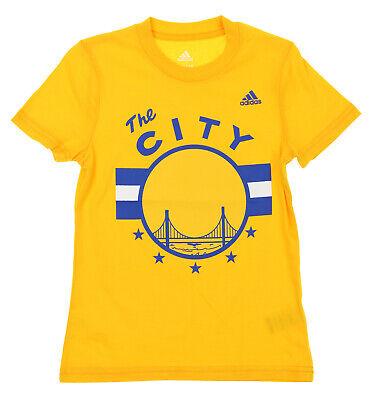 Adidas NBA Youth Girls Golden State Warriors HWC Graphic Tee T-shirt (Warrior Girl Clothing)