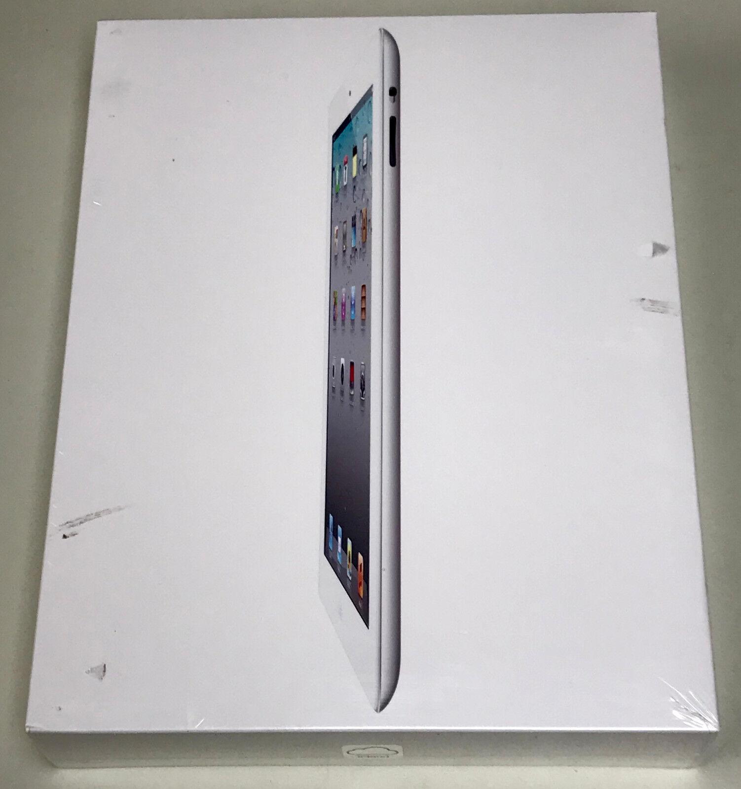 NEW Sealed Apple iPad 2 64GB 3G White Factory Unlocked MC984LL/A A1396 iOS 5