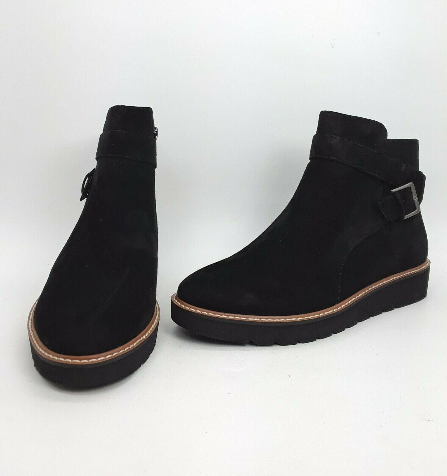 Naturalizer Aster Woman Shoes Boot Color Black Size 7.5 W