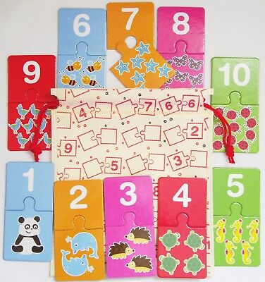 Childs Numbers Educational Game Numeracy Kids Teaching Preschool Kids Counting