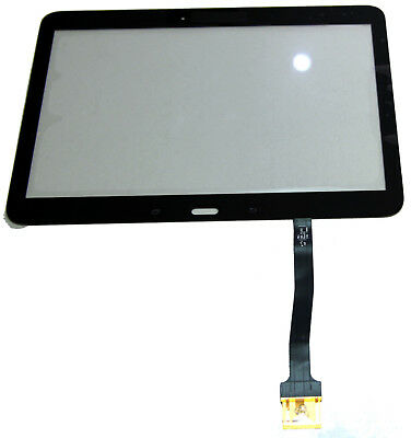 Digitizer Touch Screen Glass Lens For Galaxy Tab4 T530 Schwarz black Touch Screen Digitizer Lens