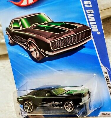 HOT WHEELS 2010 '67 CAMARO 📸 MUSCLE MANIA SERIES 🎯GOOD CONDITION