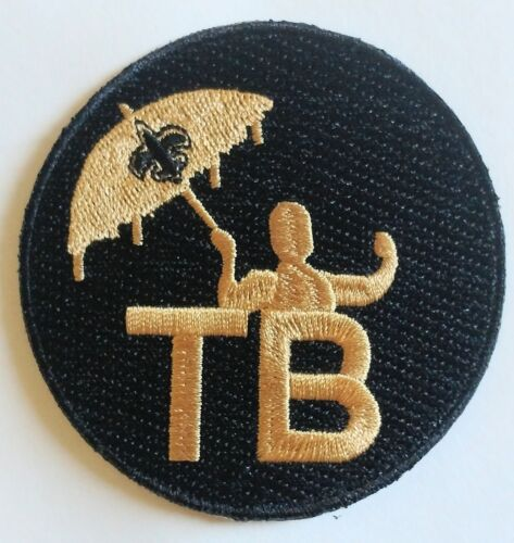 2018 Tom Benson Memorial Jersey Patch - New Orleans Saints TB