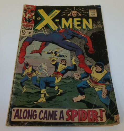 X Men Along Came a Spider 35 Aug 1967 Comic Book