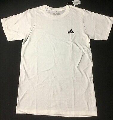 Adidas Shirt The Go To Tee Shirt Mini Side Logo White Cotton CV1476 M Side Logo Tee