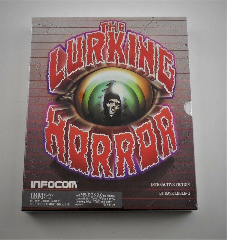 "Infocom The Lurking Horror IBM 5.25"" Video Game 1987 - Vintage Sealed"