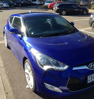 2012 Hyundai Veloster Coupe Hawthorn East Boroondara Area Preview