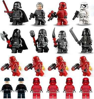 LEGO Star Wars Knights Of Ren, Sith Troopers Minifigure lot. 75256 75272 75273