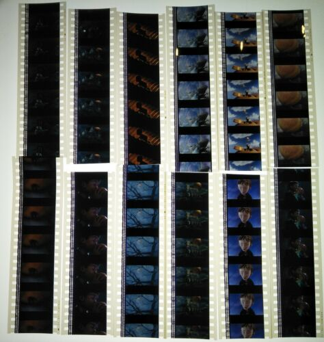 James And The Giant Peach Movie 60 x 35mm Film Cells 12 x Strips Frames Reel A