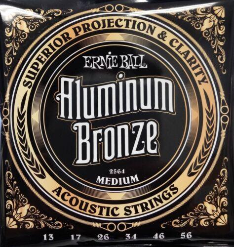 Free Ship U.S. Ernie Ball 2568 Aluminum Bronze Light Acoustic Guitar Strings