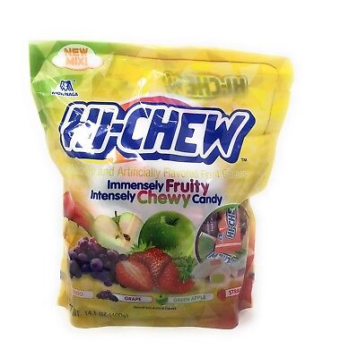 Hi Chew Sensationally Chewy Fruit Candy  Assorted Flavors  14 1 Ounce