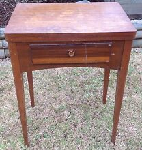 ANTIQUE VINTAGE SEWING MACHINE TABLE NICE OLD ORIGINAL ITEM Smeaton Grange Camden Area Preview