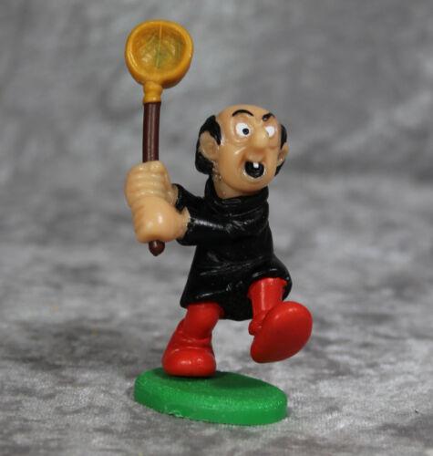 Vintage 1980s Gargamel w Net Smurfs SCHLEICH PEYO Figurine
