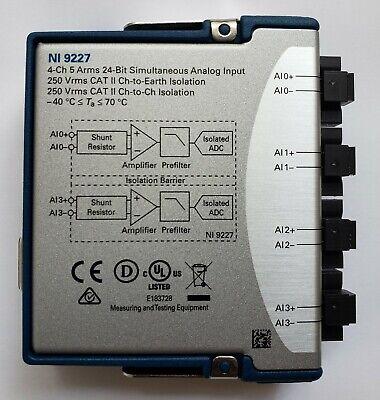 National Instruments Ni 9227 Cdaq Current Input Module 4-ch 5 Arms 198919b-01l