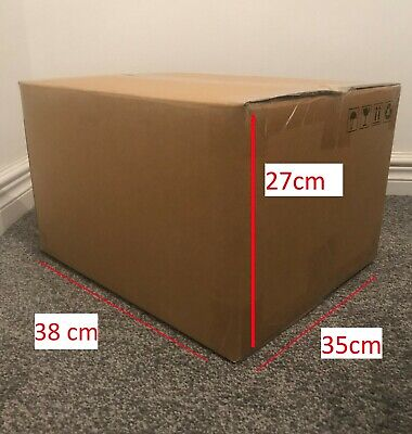 10 x Medium / Large Strong Double Wall Box Moving Packing Postal Cardboard Boxes