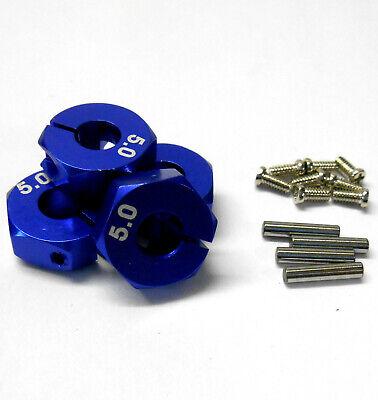 HS451014BL 1/10 Escala Coche RC 12mm Aleación Rueda De 5mm