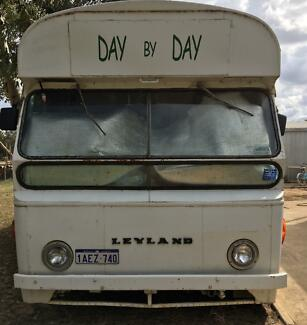 1967 Leyland Bus/Motorhome/Portable Accomodation.  MAKE AN OFFER!