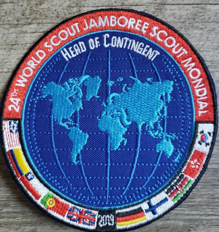 2019 24th World scouts jamboree Head of Contingent patch