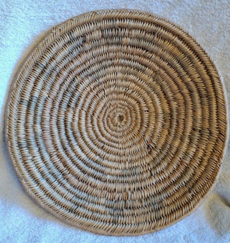 Old Large Navajo Wedding Basket Circa 1950