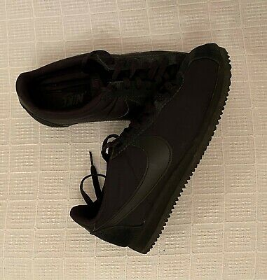 Nike Cortez Classic Nylon/Suede UK 7 Black