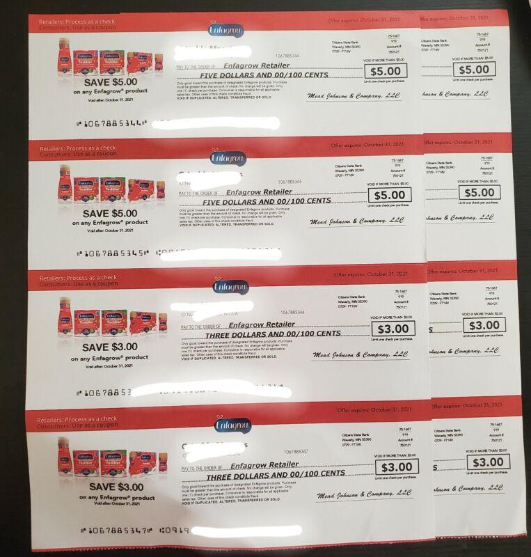$26 enfagrow checks coupons Oct 31 2021