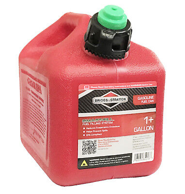 Briggs Stratton Smart-fill 1 Gallon Gas Can New Made In The Usa