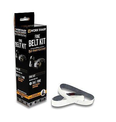 Work Sharp WSSAKO81120 X4 Fine Grit Replacement Belt Kit (5 Pack)