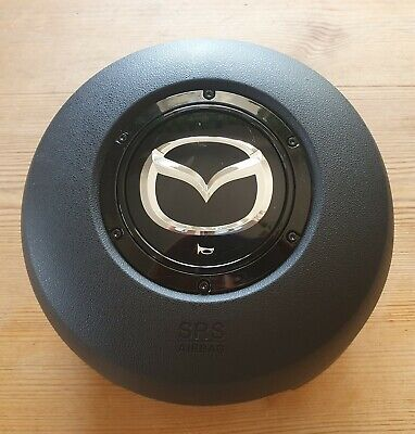 New MX5 Drivers Urethane Steering Wheel Air Bag Genuine Mazda MX-5 Mk3 2005>2008