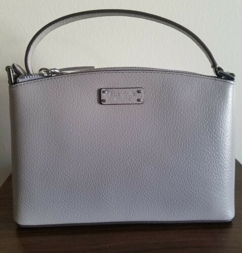 KATE SPADE NEW YORK JEANNE SOFTTAUPE LEATHER CROSSBODY/BAG W