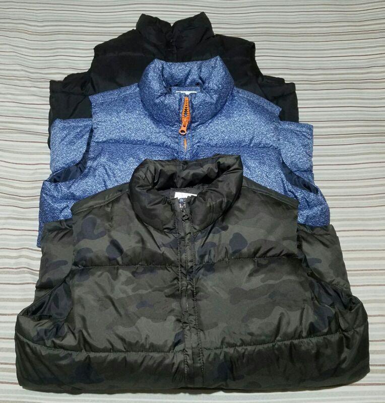 Boys Old Navy Puffer Vest LOT of 3 - Size L 10/12!!