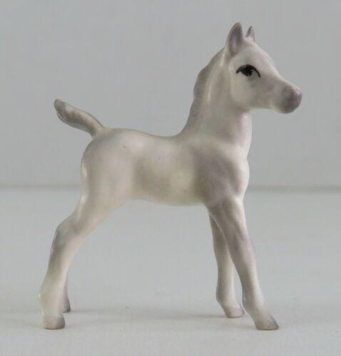 Hagen-Renaker Mini White Arabian Standing Foal Maureen Love Vintage