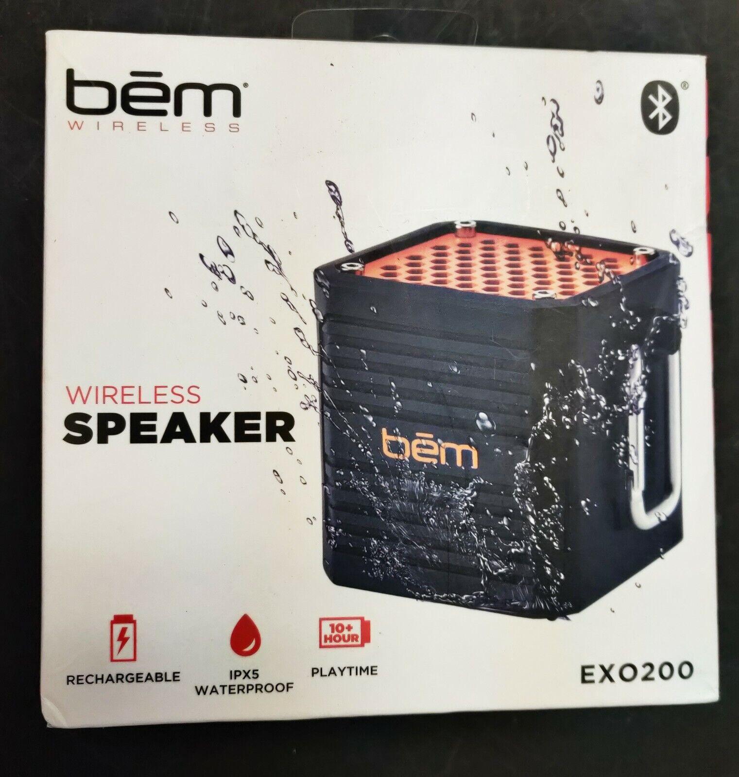 wireless speaker exo200 waterproof ipx5
