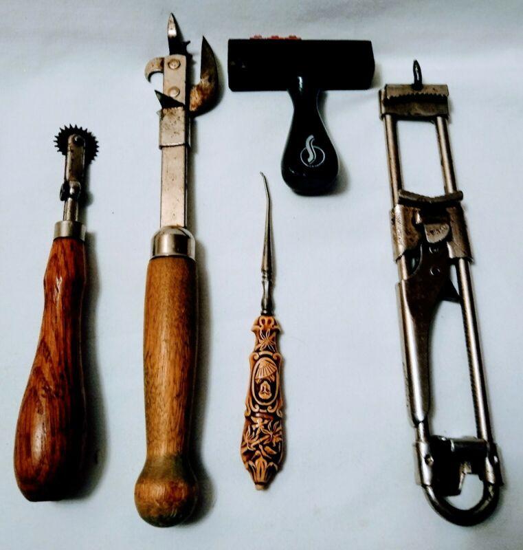 Vintage Assorted Hand Tools(5) Kitchen • Sewing • Assorted Brands• Estate Sale