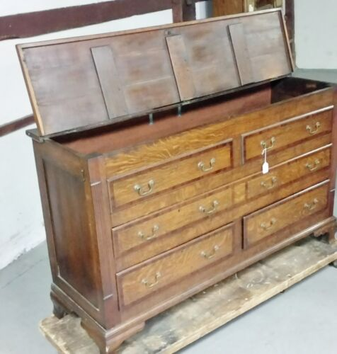 ANTIQUE BLANKET CHEST, Mule Chest early 1800