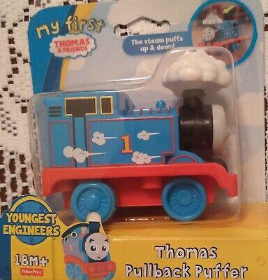 Thomas Pullback Puffer Train My First Thomas & Friends Steam Puffs Up & Down