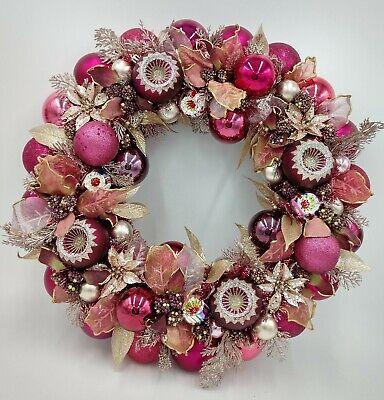 Berry-licious Beauty Floral Christmas Ornament Wreath Berry Christmas Wreath