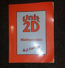 Mathematics 2D (AJ Sadler) Crawley Nedlands Area Preview