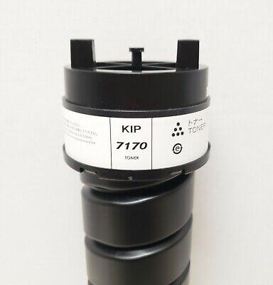 Kip 7170 Genuine Oem Toner Black One 1400g Cartridge